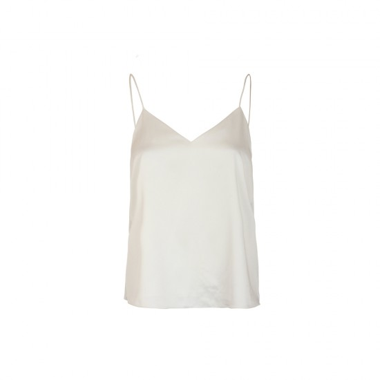 Singlet with decor with/or silk